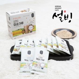 [설빙] 참 맛있는 21곡 미숫가루 40g*10포 (업체별도 무료배송)