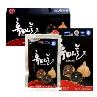 [정삼원][선물세트] 흑마늘 즙 70ml * 30포 x 3박스 (업체별도 무료배송)