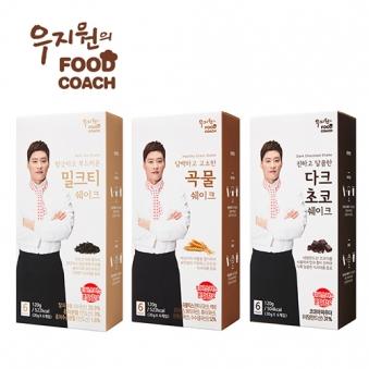 우지원 다이어트 쉐이크 3종 골라담기 (업체별도 무료배송)