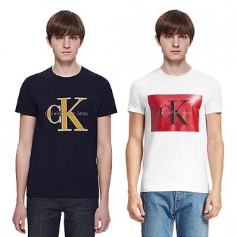 [캘빈클라인] 한정수량 로고레터링 반팔 티셔츠 9종 택1 (업체별도 무료배송)
