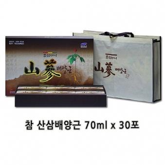농협 [경북농축산영농조합] 참신마니 산삼배양근 70ml*30포 (업체별도 무료배송)