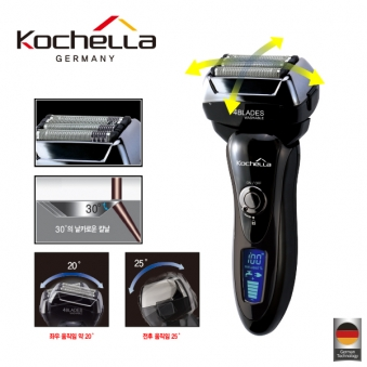 독일 코첼라 벡터 전기 면도기 KLESV-1000 (업체별도 무료배송)