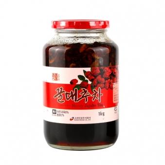 [주말특가] 꿀대추차 1kg x 2개 (업체별도 무료배송)