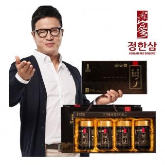 [정한삼] 고려홍삼정 프라임 240g*4병 + 쇼핑백증정 (업체별도 무료배송)