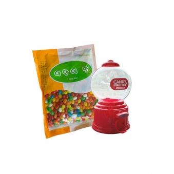 미니캔디머신(색상랜덤) + 젤리빈 500g (업체별도 무료배송)