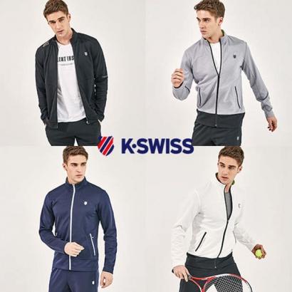 [K-SWISS] 케이스위스 19SS 남성 에어핏 트랙수트 (업체별도 무료배송)