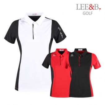 [럭스골프] LB 여성 기능성 퍼포먼스 스윙 티셔츠 LB9M606W (업체별도 무료배송)
