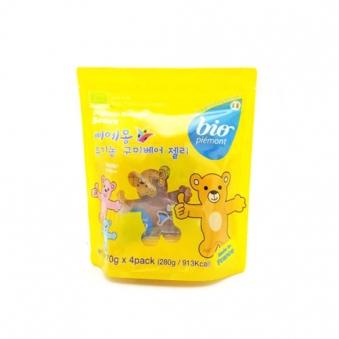 삐에몽 유기농 구미베어 젤리 280g (70g*4입) (업체별도 무료배송)