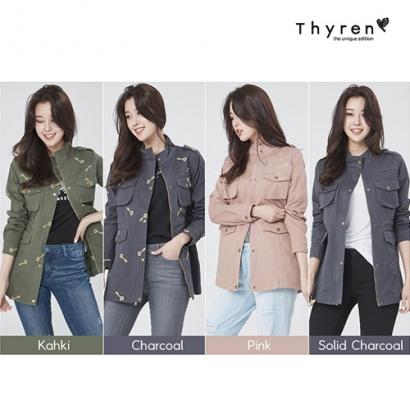 [Thyren] 티렌 트렐린 야상 점퍼 4색상 택1 (업체별도 무료배송)