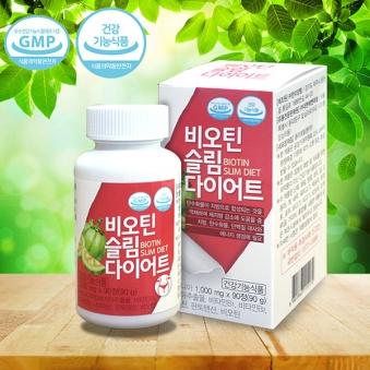 [한미양행] 비오틴 슬림 다이어트 1000mg*90정 (45일분) (업체별도 무료배송)