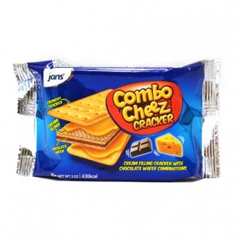 [다다익선] 콤보 치즈 크래커 85g x 10봉 (업체별도 무료배송)
