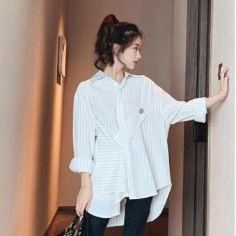 [도도한걸] 버튼 사선 포인트 셔츠 (업체별도 무료배송)