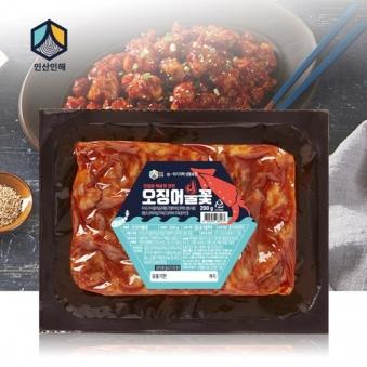 [오늘의상품][올바른상점] 오징어불꽃 200g x 4팩(업체별도 무료배송)