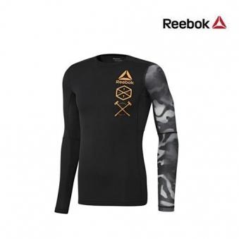 [★리복 마지막특가] [리복] 남성 액티브칠 그래픽 긴팔 티셔츠 RB-BK3944-00 (업체별도 무료배송)