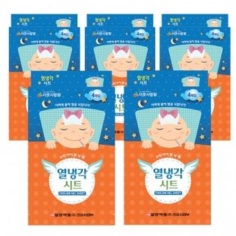 [주말특가] [일양약품] 열냉각시트 4매 x 5박스 (업체별도 무료배송)