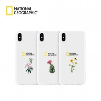 내셔널지오그래픽 플라워 솔로 아이폰 젤리 케이스 (옵션 선택) (업체별도 무료배송)