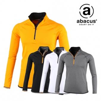 [아바쿠스] 반집업 배색 골프 티셔츠 AG11TSM6428 (업체별도 무료배송)
