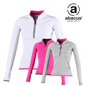아바쿠스 여성 반집업 프리미엄 배색 골프 티셔츠 AG11TSW2428 (업체별도 무료배송)