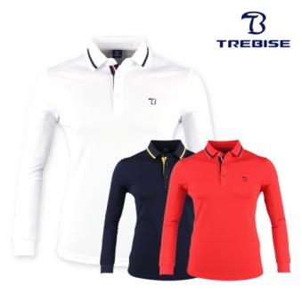 [트레비스] 골프 남성 반집업 스탠드 카라셔츠 TAGSTL03M (업체별도 무료배송)