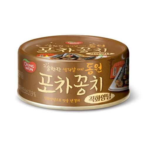 [타임특가] 포차꽁치 직화양념 90g