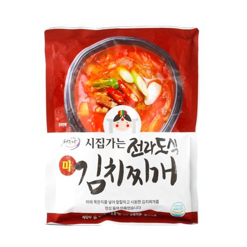 시집가는 전라도식 마 김치찌개 300G*(5+2팩) (업체별도 무료배송)