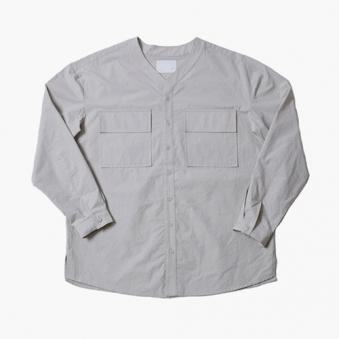 [only 1] 와이넥 워싱 오버핏 셔츠 (업체별도 무료배송)
