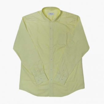 [only 1] 파스텔 와이드 카라 셔츠(YELLOW) (업체별도 무료배송)