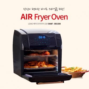레이코 에어프라이어 오븐 12리터 (SHAF-SR1500) (업체별도 무료배송)