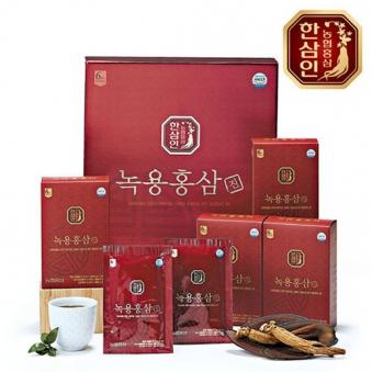 한삼인 녹용홍삼 진 70ml x 30포 (업체별도 무료배송)