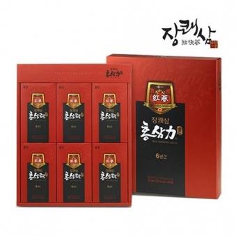 [핫딜] [웅진] 장쾌삼 홍삼력골드 70ml x 30포 (업체별도 무료배송)