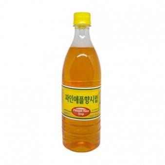 오뚜기 슬러시 파인애플맛 1kg (업체별도 무료배송)