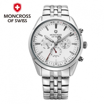 [스위스 몽크로스] MS3810 남성손목시계 White/Black/Blue 택1 (업체별도 무료배송)