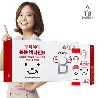 [에이토솔루션] 어린이 액상 비타민B 컴플렉스 1박스 (60포) (업체별도 무료배송)