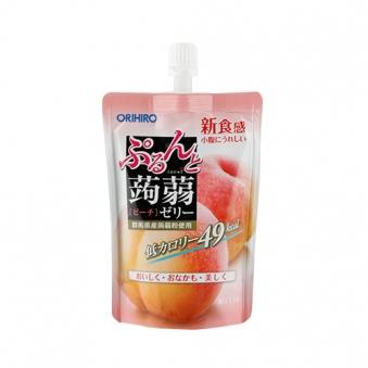 오리히로 복숭아맛 곤약젤리 130g