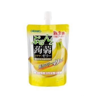 오리히로 바나나맛 곤약젤리 130g