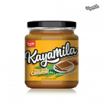 [푸드화이터]카야밀라 코코넛 카야 스프레드 씨쏠트카라멜 270g