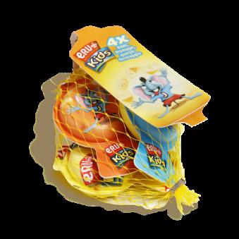 ERU 키즈 스낵 포션 치즈 20g*4입 x 4개 (업체별도 무료배송)