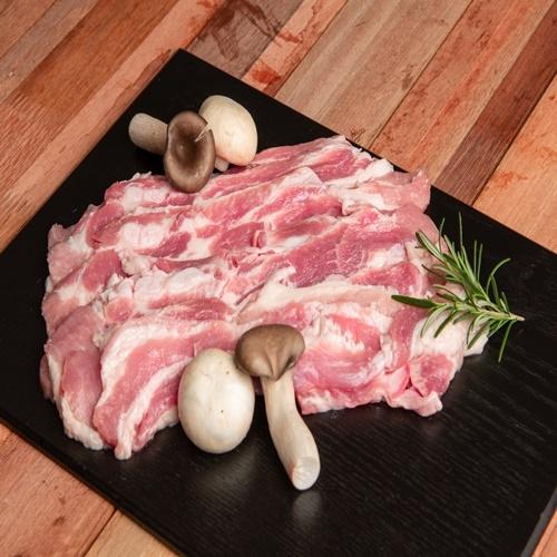 돼지 삼겹살 500g*4팩 총2kg (업체별도 무료배송)