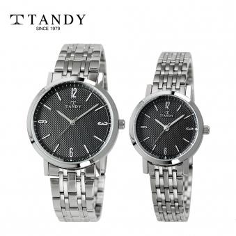 [탠디] 클래식 커플 메탈 손목시계 T-3705 블랙 (남녀 택1) (업체별도 무료배송)