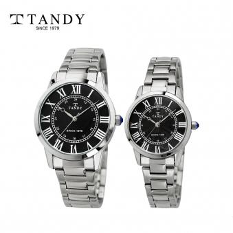 탠디 클래식 커플 메탈 손목시계 T-3714 블랙 (남녀 택1) (업체별도 무료배송)