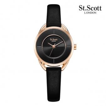 [국내최저가] [세인트스코트] 케이트 여성 가죽 시계 ST7014 3색상 택1 (업체별도 무료배송)
