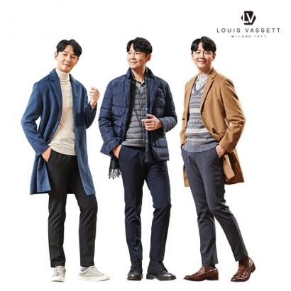 [루이바셋X조연우] 남성 트리플 웜 코지 기모안감 본딩팬츠 3종 택1 (업체별도 무료배송)