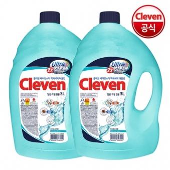 [핫딜] [클레븐] 베이킹소다 더블업 액체세제 3L x 2개 (업체별도 무료배송)