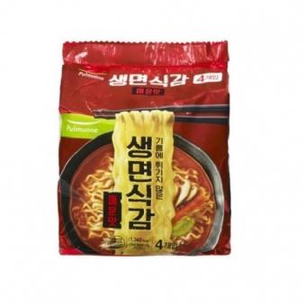 [핫딜] [풀무원] 생면식감 매운맛 4입 x 8개 (총32개) (업체별도 무료배송)