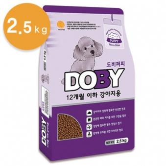 도비 퍼피 2.5kg (업체별도 무료배송)
