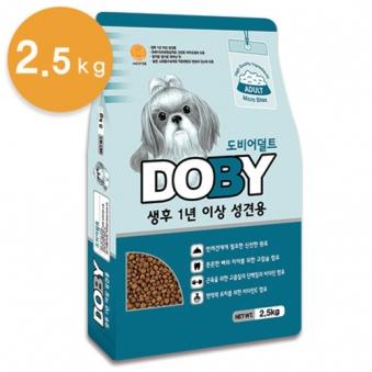 도비 어덜트 2.5kg (업체별도 무료배송)