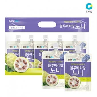 [청정원] 블루베리랑 노니 70ml * 10개입 (업체별도 무료배송)