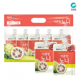 [청정원] 석류랑 노니 70ml * 10개입 (업체별도 무료배송)