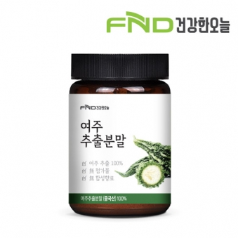 FND건강한오늘 여주추출분말 100g x 1개 (업체별도 무료배송)