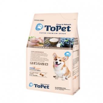 투펫 닭고기&쌀 1.2kg (업체별도 무료배송)
